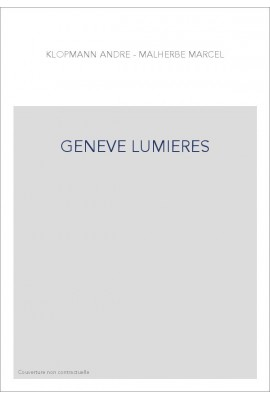 GENEVE LUMIERES