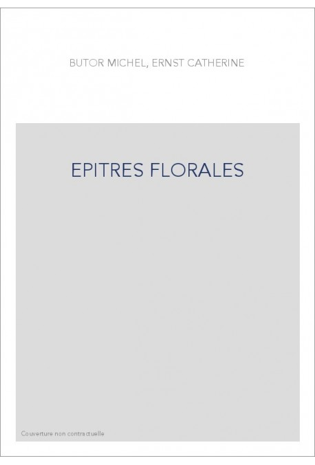 EPITRES FLORALES