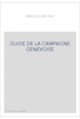 GUIDE DE LA CAMPAGNE GENEVOISE