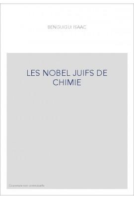 LES NOBEL JUIFS DE CHIMIE