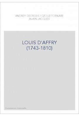 LOUIS D'AFFRY (1743-1810)