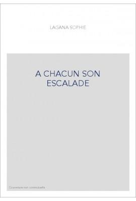 A CHACUN SON ESCALADE