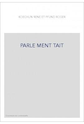 PARLE MENT TAIT