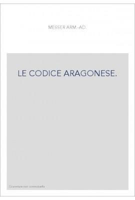 LE CODICE ARAGONESE.