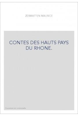 CONTES DES HAUTS PAYS DU RHONE.