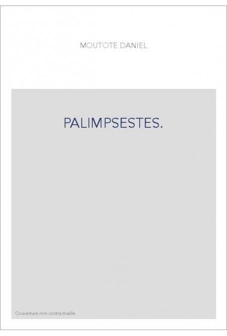 PALIMPSESTES.
