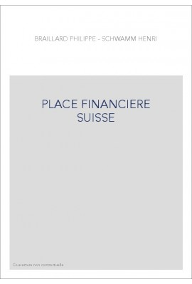PLACE FINANCIERE SUISSE