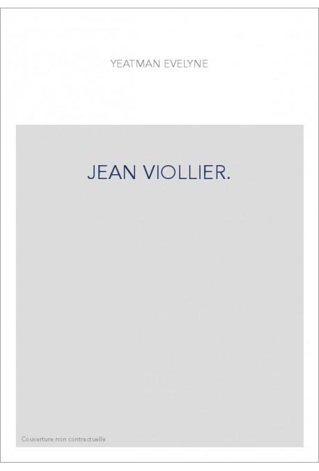 JEAN VIOLLIER.
