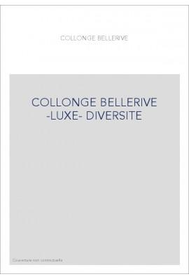 COLLONGE BELLERIVE -LUXE- DIVERSITE