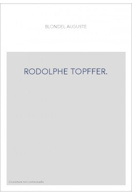 RODOLPHE TOPFFER.