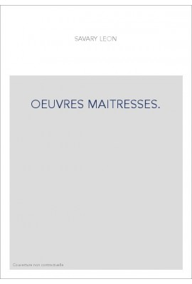 OEUVRES MAITRESSES.