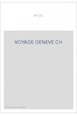 VOYAGE GENEVE CH