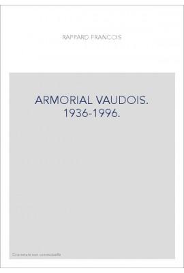 ARMORIAL VAUDOIS. 1936-1996.