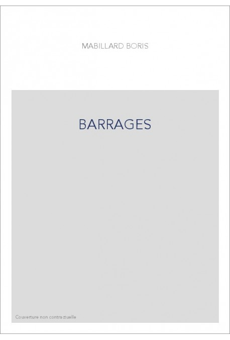 BARRAGES