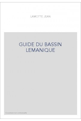 GUIDE DU BASSIN LEMANIQUE