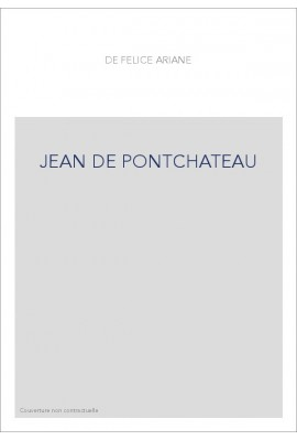 JEAN DE PONTCHATEAU