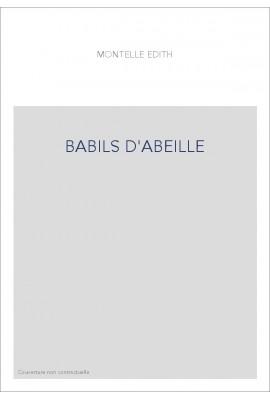 BABILS D'ABEILLE