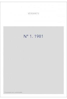 VERSANTS 1  1981