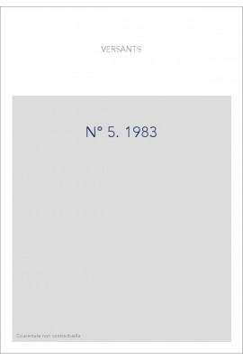 VERSANTS 5  1983