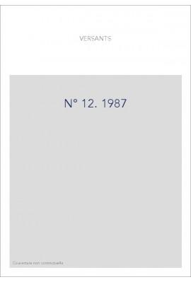 VERSANTS 12 1987
