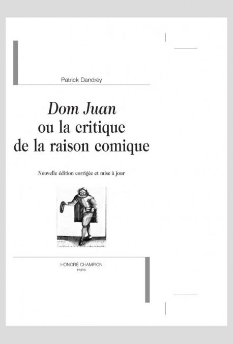Dissertation dom juan est il comique