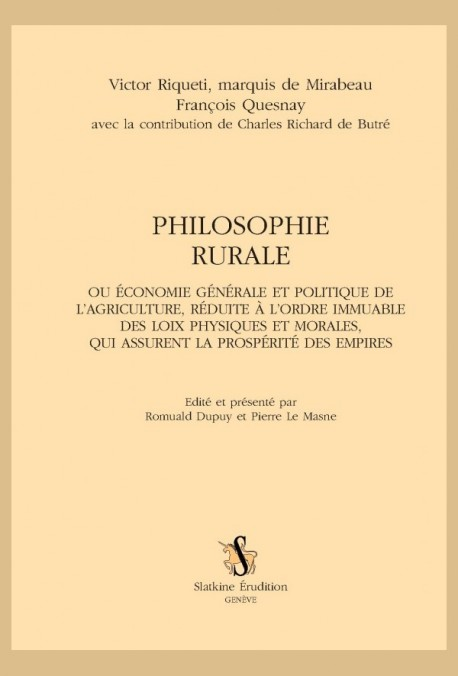 PHILOSOPHIE RURALE