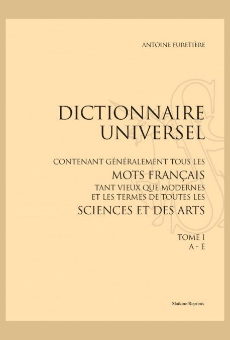 DICTIONNAIRE UNIVERSEL 3 VOL