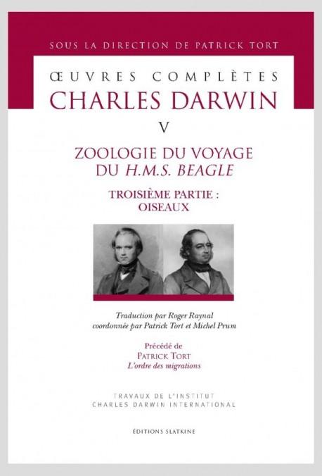 ZOOLOGIE DU VOYAGE DU H.M.S. BEAGLE. TROISIÈME PARTIE: OISEAUX