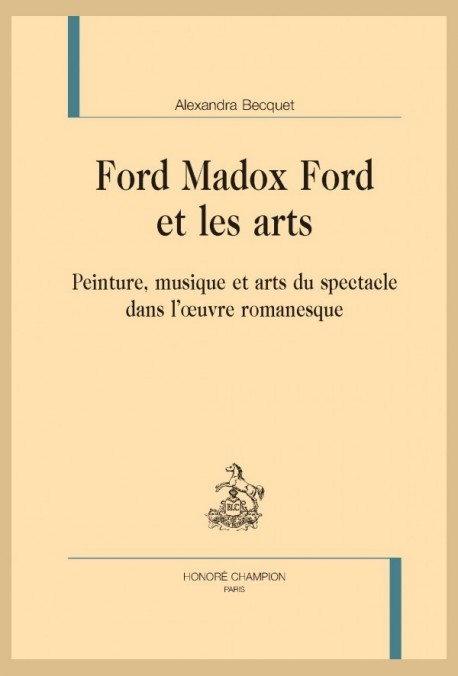 FORD MADOX FORD ET LES ARTS