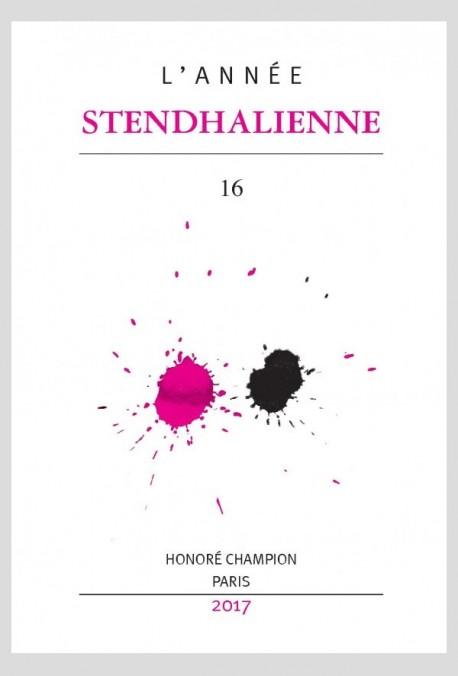 L'ANNÉE STENDHALIENNE 16
