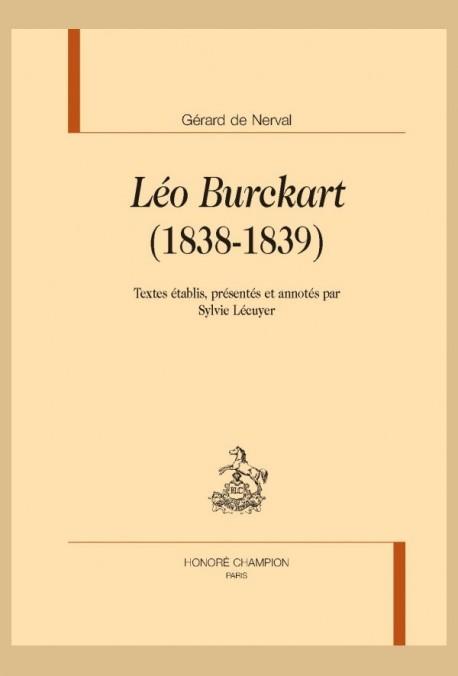 LÉO BURCKART (1838-1839)