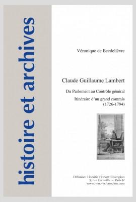 CLAUDE GUILLAUME LAMBERT