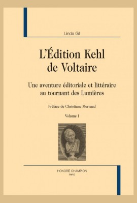 L'ÉDITION KEHL DE VOLTAIRE