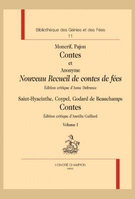 CONTES ET NOUVEAU RECUEIL DE CONTES DE FÉES
