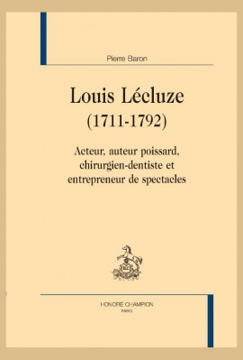 LOUIS LÉCLUZE (1711-1792)