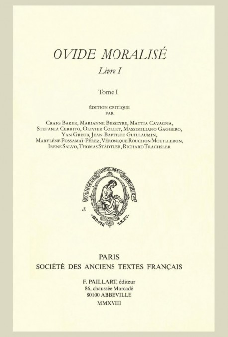 L'OVIDE MORALISÉ, LIVRE I.