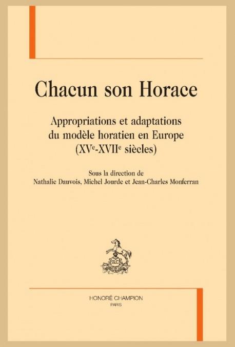 CHACUN SON HORACE