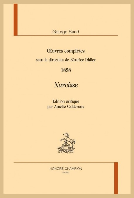 OEUVRES COMPLÈTES. 1858. NARCISSE