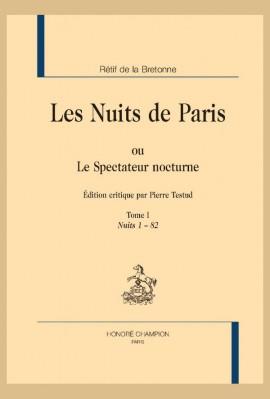LES NUITS DE PARIS OU LE SPECTATEUR NOCTURNE