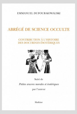 ABRÉGÉ DE SCIENCE OCCULTE