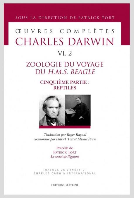 ZOOLOGIE DU VOYAGE DU H.M.S. BEAGLE. CINQUIÈME PARTIE: REPTILES
