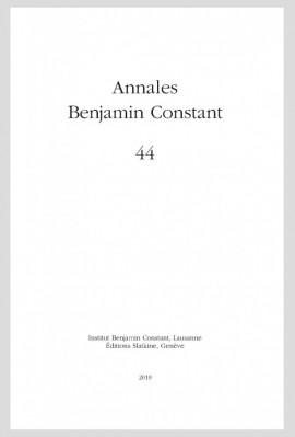 ANNALES BENJAMIN CONSTANT 44