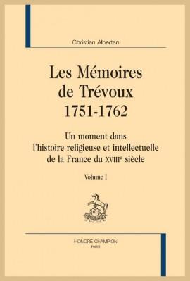 LES MÉMOIRES DE TRÉVOUX. 1751-1762