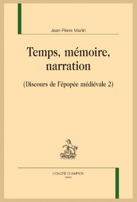 TEMPS, MÉMOIRE, NARRATION
