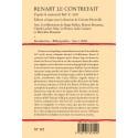 RENART LE CONTREFAIT D'APRÈS LE MANUSCRIT BNF FR. 1630