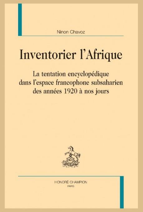INVENTORIER L'AFRIQUE